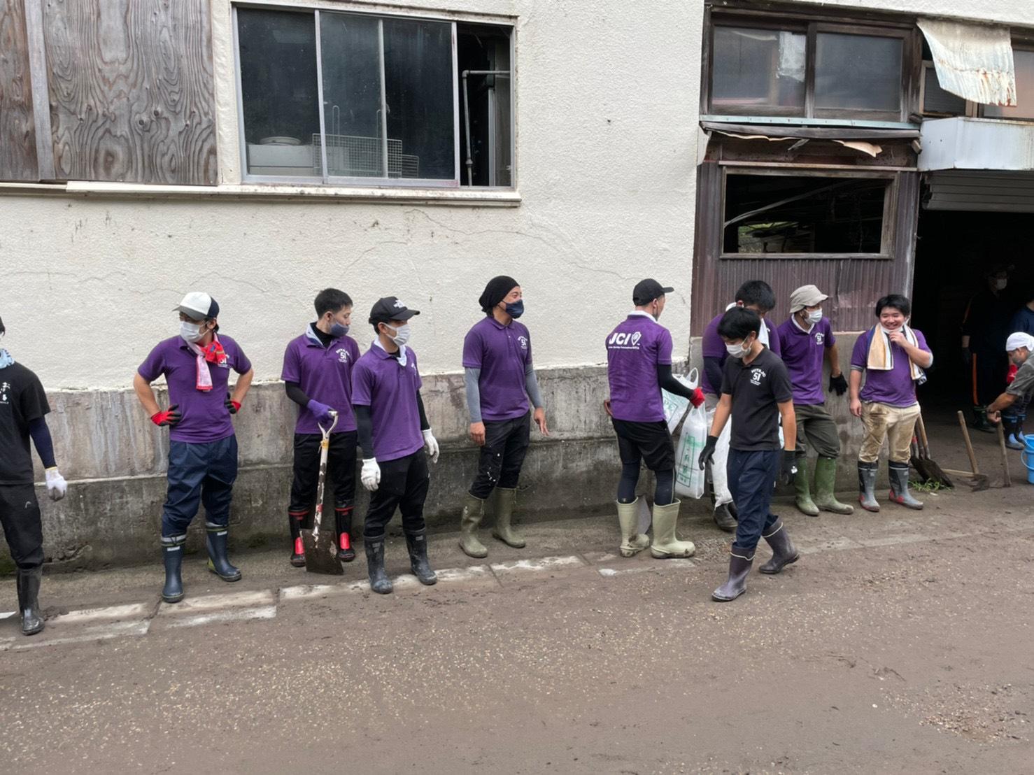 8月22日災害ボランティア活動
